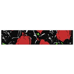 Red Roses Flano Scarf (small) by Valentinaart