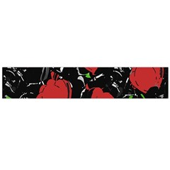 Red Roses Flano Scarf (large) by Valentinaart