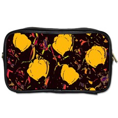 Yellow Roses  Toiletries Bags by Valentinaart