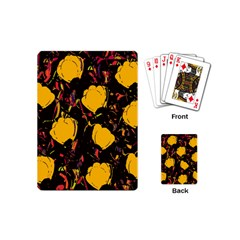 Yellow Roses  Playing Cards (mini)  by Valentinaart