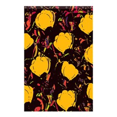 Yellow Roses  Shower Curtain 48  X 72  (small)  by Valentinaart