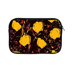 Yellow Roses  Apple Ipad Mini Zipper Cases by Valentinaart