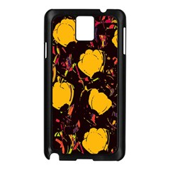 Yellow Roses  Samsung Galaxy Note 3 N9005 Case (black)