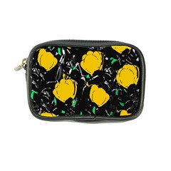 Yellow Roses 2 Coin Purse by Valentinaart