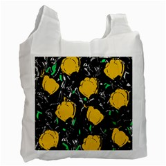 Yellow Roses 2 Recycle Bag (two Side)  by Valentinaart