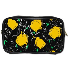 Yellow Roses 2 Toiletries Bags 2 Side by Valentinaart