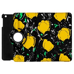 Yellow Roses 2 Apple Ipad Mini Flip 360 Case by Valentinaart