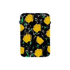 Yellow Roses 2 Apple Ipad Mini Protective Soft Cases by Valentinaart