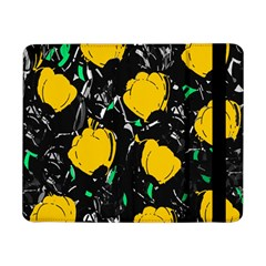 Yellow Roses 2 Samsung Galaxy Tab Pro 8 4  Flip Case by Valentinaart