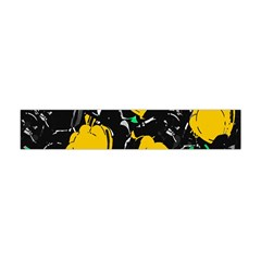 Yellow Roses 2 Flano Scarf (mini) by Valentinaart