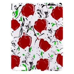 Red Roses 2 Apple Ipad 3/4 Hardshell Case by Valentinaart