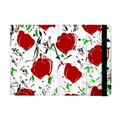 Red Roses 2 Apple Ipad Mini Flip Case by Valentinaart
