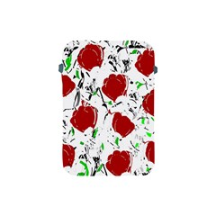 Red Roses 2 Apple Ipad Mini Protective Soft Cases by Valentinaart