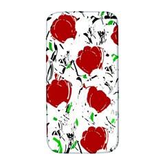 Red Roses 2 Samsung Galaxy S4 I9500/i9505  Hardshell Back Case by Valentinaart