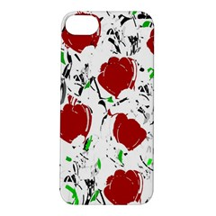 Red Roses 2 Apple Iphone 5s/ Se Hardshell Case by Valentinaart