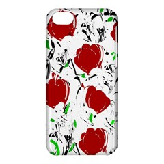 Red Roses 2 Apple Iphone 5c Hardshell Case by Valentinaart