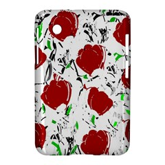 Red Roses 2 Samsung Galaxy Tab 2 (7 ) P3100 Hardshell Case  by Valentinaart