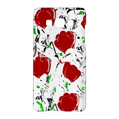 Red Roses 2 Samsung Galaxy A5 Hardshell Case  by Valentinaart