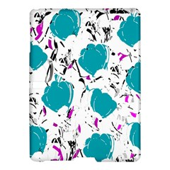 Cyan Roses Samsung Galaxy Tab S (10 5 ) Hardshell Case  by Valentinaart