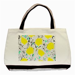 Yellow Roses 2 Basic Tote Bag (two Sides) by Valentinaart