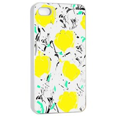 Yellow Roses 2 Apple Iphone 4/4s Seamless Case (white)