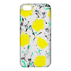 Yellow Roses 2 Apple Iphone 5c Hardshell Case by Valentinaart