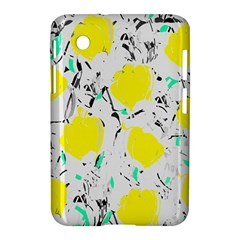 Yellow Roses 2 Samsung Galaxy Tab 2 (7 ) P3100 Hardshell Case  by Valentinaart