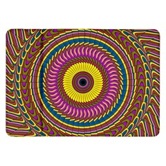 Ornament Mandala Samsung Galaxy Tab 8 9  P7300 Flip Case by designworld65