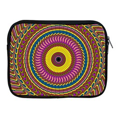 Ornament Mandala Apple Ipad 2/3/4 Zipper Cases by designworld65