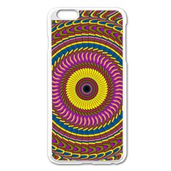 Ornament Mandala Apple Iphone 6 Plus/6s Plus Enamel White Case by designworld65