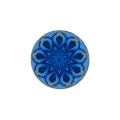 Blue Blossom Mandala Golf Ball Marker (10 Pack) by designworld65