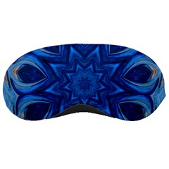 Blue Blossom Mandala Sleeping Masks by designworld65