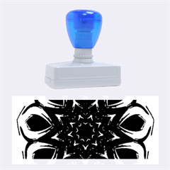 Blue Blossom Mandala Rubber Stamps (large) by designworld65