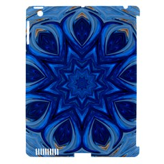 Blue Blossom Mandala Apple Ipad 3/4 Hardshell Case (compatible With Smart Cover) by designworld65