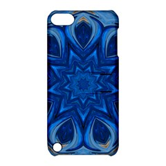 Blue Blossom Mandala Apple Ipod Touch 5 Hardshell Case With Stand by designworld65