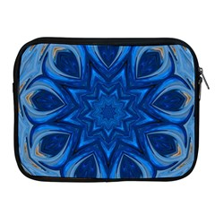Blue Blossom Mandala Apple Ipad 2/3/4 Zipper Cases by designworld65