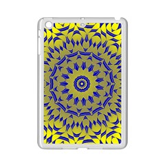 Yellow Blue Gold Mandala Ipad Mini 2 Enamel Coated Cases by designworld65
