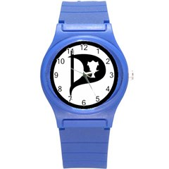 Pirate Party Of Iceland Logo Round Plastic Sport Watch (s) by abbeyz71