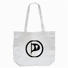 Pirate Party Of Iceland Logo Tote Bag (white)
