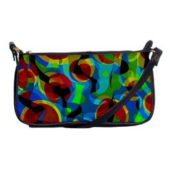 Colorful Smoothie  Shoulder Clutch Bags