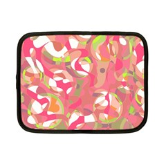 Pink Smoothie  Netbook Case (small)  by Valentinaart