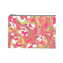 Pink Smoothie  Cosmetic Bag (large)