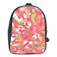 Pink Smoothie  School Bags (xl)  by Valentinaart