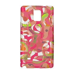 Pink Smoothie  Samsung Galaxy Note 4 Hardshell Case by Valentinaart