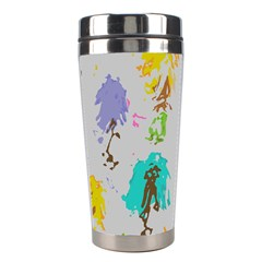 Spots                                                                                                       Stainless Steel Travel Tumbler by LalyLauraFLM
