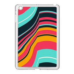 Bent Waves                                                                                                       			apple Ipad Mini Case (white) by LalyLauraFLM