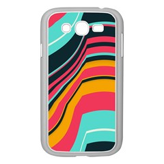 Bent Waves                                                                                                       			samsung Galaxy Grand Duos I9082 Case (white) by LalyLauraFLM