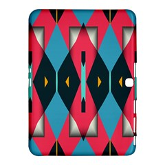 Triangles Stripes And Other Shapes                                                                                                        			samsung Galaxy Tab 4 (10 1 ) Hardshell Case by LalyLauraFLM