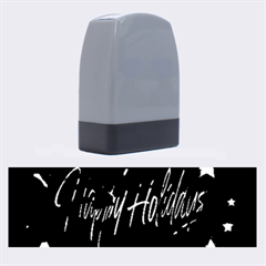 Happy Holidays Name Stamps