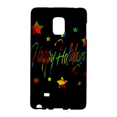 Happy Holidays Galaxy Note Edge by Valentinaart